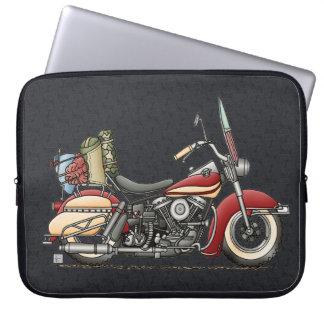 Cute Motorcycle Computer Sleeve