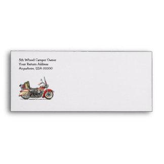 Cute Motorcycle Envelope