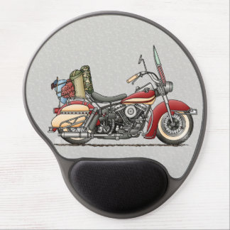 Cute Motorcycle Gel Mouse Pad