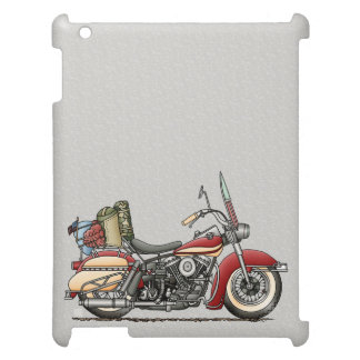 Cute Motorcycle iPad Cover