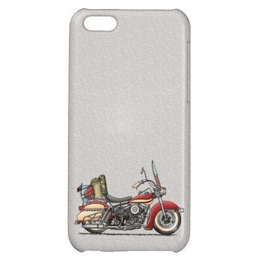 Cute Motorcycle iPhone 5C Covers