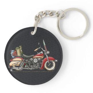 Cute Motorcycle Keychain