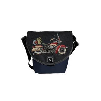 Cute Motorcycle Messenger Bag