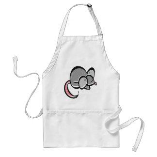 Cute Mouse Adult Apron