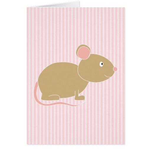 Cute mouse. card