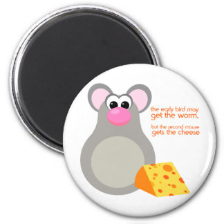 Cute Mouse Cartoon Magnet