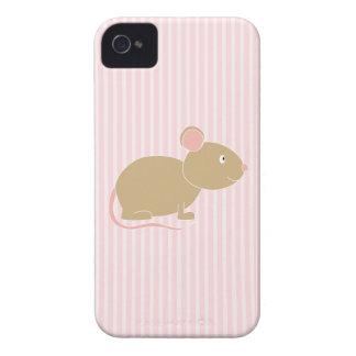 Cute mouse iPhone 4 case
