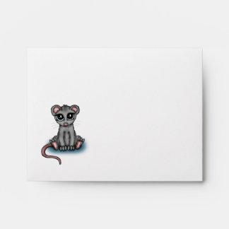 cute Mouse Envelopes