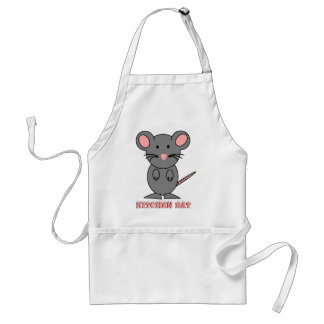 CUTE MOUSE GIFTS - BIG MOUSE RAT  SWEET PET GIFT ADULT APRON