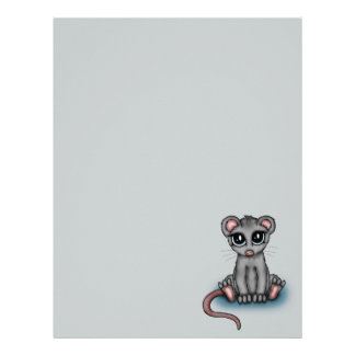 cute Mouse Letterhead