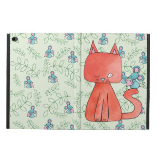 Cute Mouse Loves Kitty Cat Powis iPad Air 2 Case