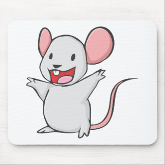 Cute Mouse Mouse Pad
