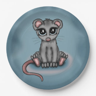 cute Mouse Paper Plate