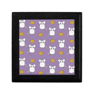 Cute Mouse pattern Jewelry Box
