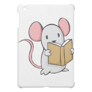 Cute Mouse Reading Book iPad Mini Cases