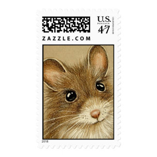 Cute Mouse Stamp