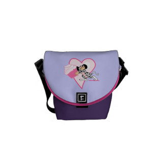Cute Mouse With Cupcake Courier Bag