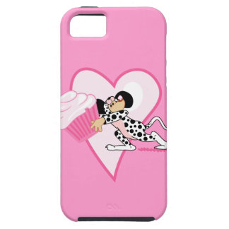 Cute Mouse With Cupcake iPhone SE/5/5s Case