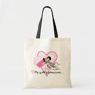 Cute Mouse With Cupcake Tote Bag
