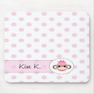 Cute Mousepads By The Sock Monkey Shoppe
