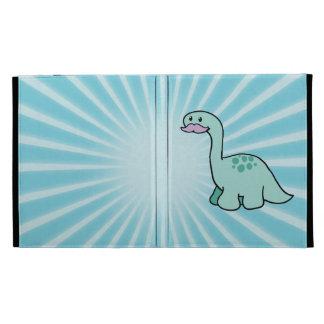 Cute Moustache Dinosaur iPad Case