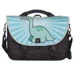 Cute Moustache Dinosaur Commuter Bags