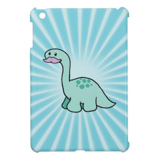 Cute Moustache Dinosaur iPad Mini Covers