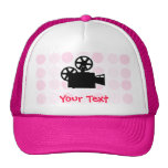 Cute Movie Camera Hats