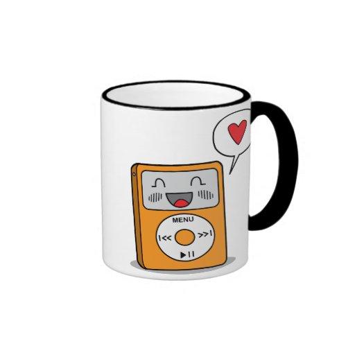 Cute MP3 Player - Mug