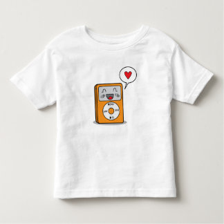 Cute MP3 Player - Toddler's T-Shirt