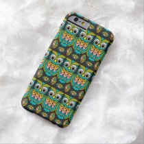 Cute Mr. Hoot Owl  iPhone 6 6/S Case