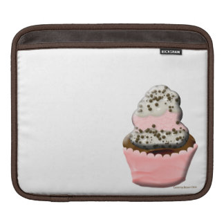 Cute muffin cupcake design Illustration Sleeve For iPads
