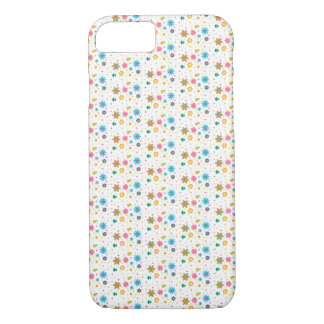 Cute Multi-Colored Floral Design - iPhone 7 Case