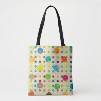 Cute Multicolored Polka Dots