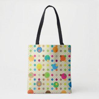 Cute Multicolored Polka Dots
