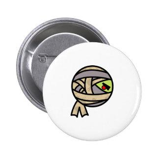 cute mummy design button