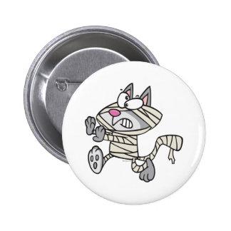cute mummy kitty cat cartoon pins