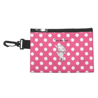 Cute mummy pink polka dots accessories bags