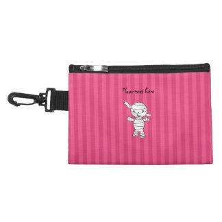 Cute mummy pink stripes accessory bag
