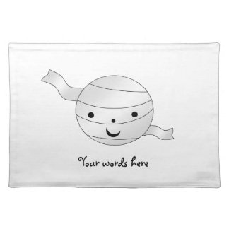 Cute mummy place mat
