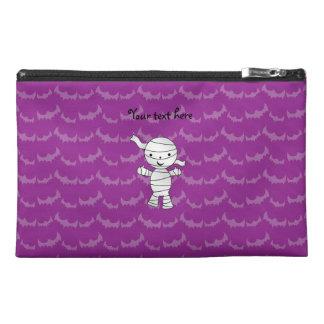 Cute mummy purple bats travel accessories bags