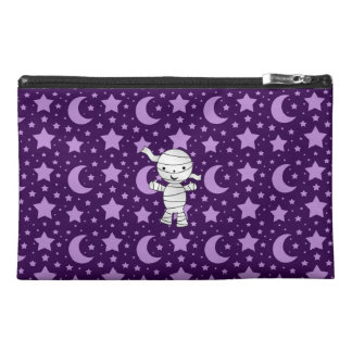 Cute mummy purple stars and moons travel accessories bags