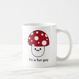 Cute Mushroom Fungi Classic White Coffee Mug