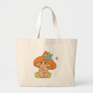 cute mushroom gnome elf bag
