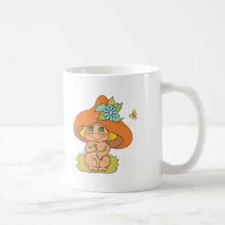 cute mushroom gnome elf coffee mugs