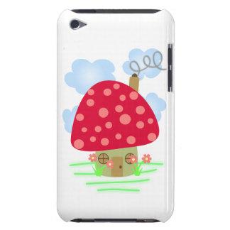 Cute Mushroom House iPod Touch Case