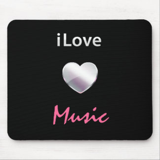 Cute Music Mouse Pad