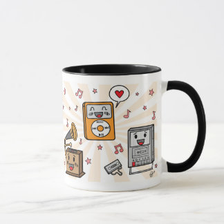 Cute Music Players - Mug
