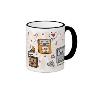 Cute Music Players - Mug