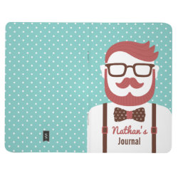 Pocket Journal with Iconic Cowboy Moustache design